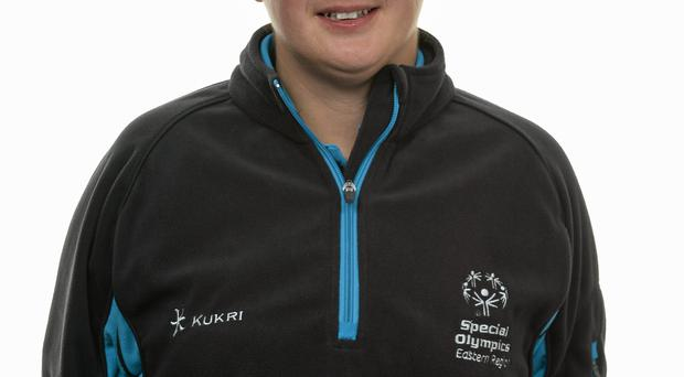 15 November 2014; Michelle Stynes, Basketball, Palmerstown Wildcats Special Olympics Club. Special Olympics Ireland Squad and Portraits, Louis Fitzgerald Hotel, Dublin. Picture credit: Piaras O Midheach / SPORTSFILE *** NO REPRODUCTION FEE ***