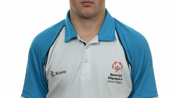 15 November 2014; Emmet Daly, Football 5, Sporting Fingal. Special Olympics Ireland Squad and Portraits, Louis Fitzgerald Hotel, Dublin. Picture credit: Piaras O Midheach / SPORTSFILE *** NO REPRODUCTION FEE ***