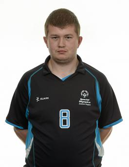 15 November 2014; Stephen Joyce, Football 5, Ronanstown Community Training & Education Centre. Special Olympics Ireland Squad and Portraits, Louis Fitzgerald Hotel, Dublin. Picture credit: Piaras O Midheach / SPORTSFILE *** NO REPRODUCTION FEE ***