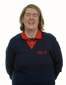 15 November 2014; Trud Hyland, Golf, Cork Golf Special Olympics Club. Special Olympics Ireland Squad and Portraits, Louis Fitzgerald Hotel, Dublin. Picture credit: Piaras O Midheach / SPORTSFILE *** NO REPRODUCTION FEE ***