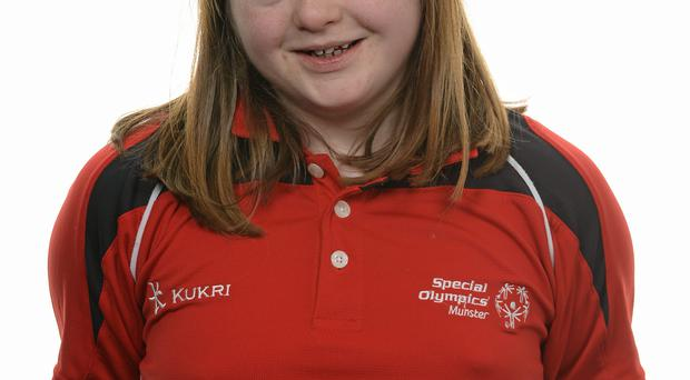 15 November 2014; Laura Ahern, Gymnastics Artistic, Owenabue Special Olympics Gymnastics Club. Special Olympics Ireland Squad and Portraits, Louis Fitzgerald Hotel, Dublin. Picture credit: Piaras O Midheach / SPORTSFILE *** NO REPRODUCTION FEE ***