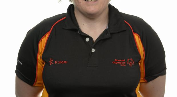 15 November 2014; Carole Catling, Table Tennis, Abbots Cross Special Olympics Club. Special Olympics Ireland Squad and Portraits, Louis Fitzgerald Hotel, Dublin. Picture credit: Piaras O Midheach / SPORTSFILE *** NO REPRODUCTION FEE ***
