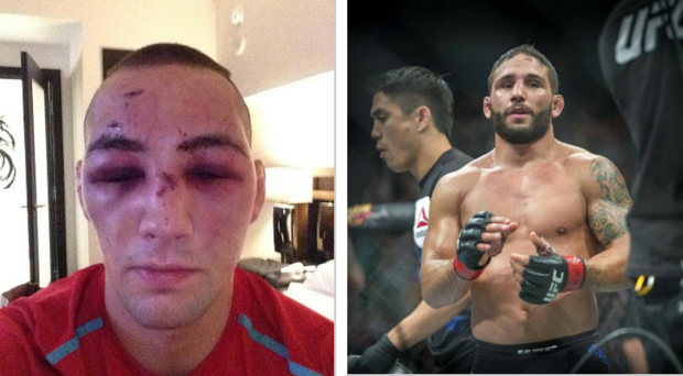 Rory McDonald and Chad Mendes