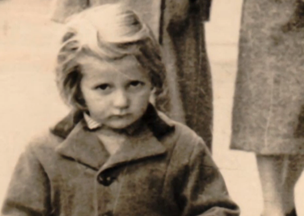 Theresa Hiney Tinggal pictured when she was a child