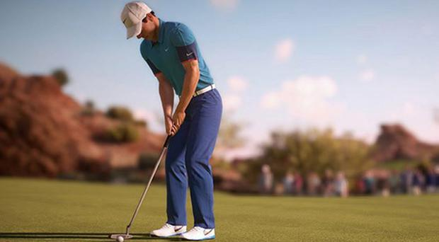 Rory McIlroy in digital form