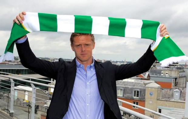 Damien Duff has joined Shamrock Rovers