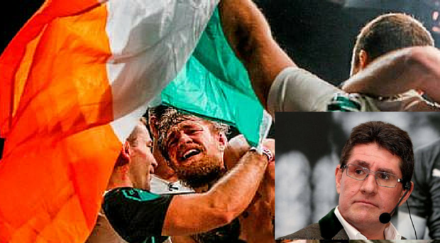 Paul Kimmage, inset, described MMA as barbaric