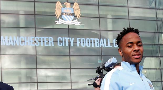 New Manchester City signing Raheem Sterling