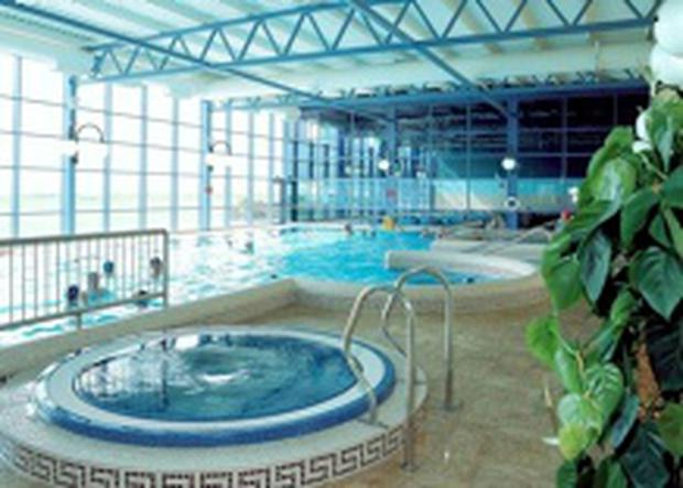 The pool at the Quality Hotel in Youghal, Co Cork.