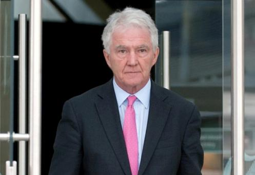 Anglo accounts were connected to Sean FitzPatrick