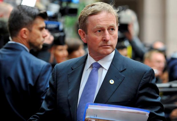 'Enda has either embraced the spirit of Sam Beckett, or he's content to let Irish Water carry the can for a woejus level of sign-up by the citizenry'