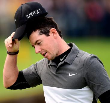 Rory McIlroy has been warned by fellow golf stars Louis Oosthuizen and Tiger Woods to ensure his injury is properly healed before returning to play