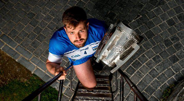 Noel Connors, Waterford, with the Liam MacCarthy Cup