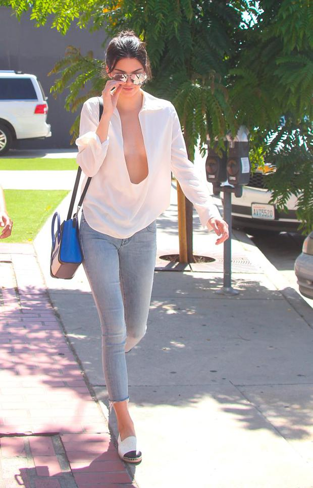 Kendall Jenner is seen on July 14, 2015 in Los Angeles, California. (Photo by Bauer-Griffin/GC Images)
