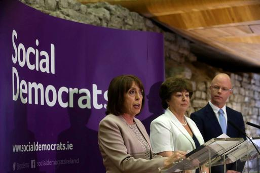 Social Democrats: Roisin Shortall, Catherine Murphy and Stephen Donnelly