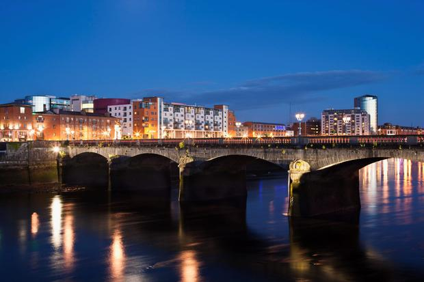 Limerick City at Dusk