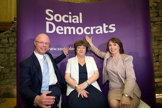 TDs Roisin Shortall, Catherine Murphy, and Stephen Donnelly