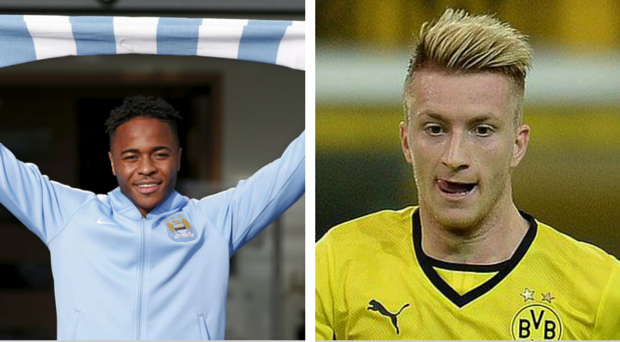 Raheem Sterling could be replaced by Marco Reus at Anfield