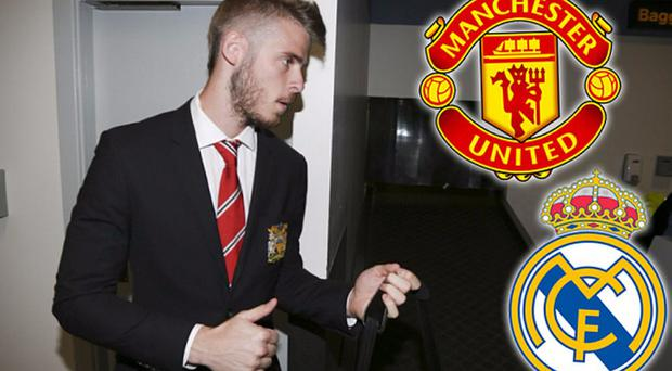 Wanted man: David de Gea has joined Man Utd on pre season tour