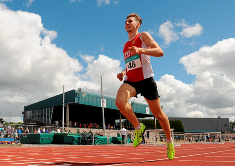 Kevin Mulcaire is currently ranked fourth in Europe behind Julien Wanders of Switzerland