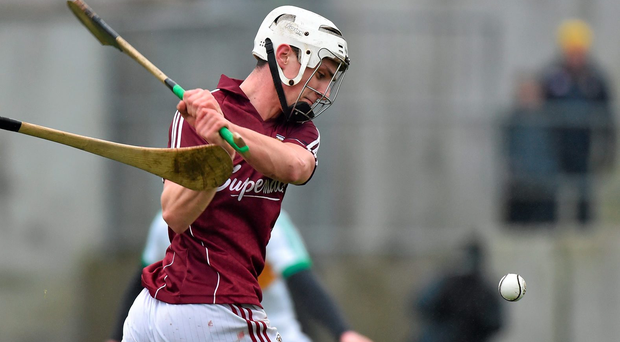 Galway's Dean Higgins opened proceedings inside one minute with a point