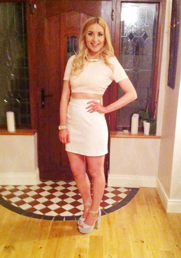 4c9625c3dd ... girl who fell ill on night out with friends. Tragedy: Tory Johnston