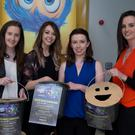 Vicky Carse, Hazel Curran, Shaunna Lee Lynch and Eavan Healy Rathmines at a fundraising event for injured Berkeley balcony victim Jack Halpin at the Omniplex in Rathmines, Dublin