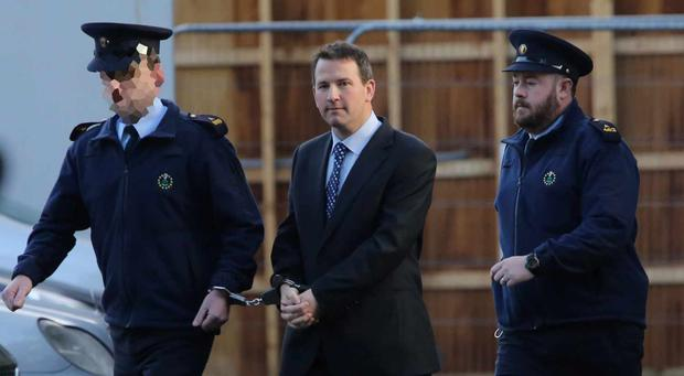 Graham Dwyer pictured leaving the Four Courts. Photo: Collins Courts
