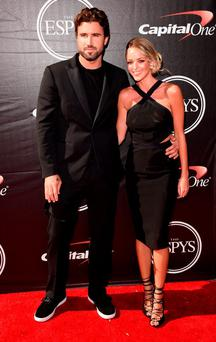 TV personality Brody Jenner with Kaitlynn Carter attends The 2015 ESPYS at Microsoft Theater on July 15, 2015 in Los Angeles, California. (Photo by Jason Merritt/Getty Images)