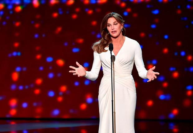 Honoree Caitlyn Jenner accepts the Arthur Ashe Courage Award onstage during The 2015 ESPYS at Microsoft Theater on July 15, 2015 in Los Angeles, California. (Photo by Kevin Winter/Getty Images)