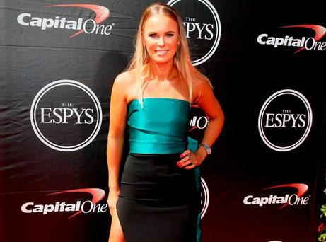 Caroline Wozniacki at the ESPY Awards