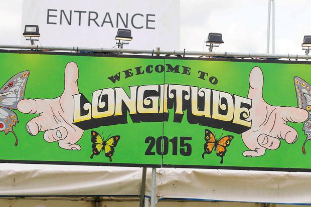 Longitude festival exclusive tour of the festival site. Pic Stephen Collins/Collins Photos
