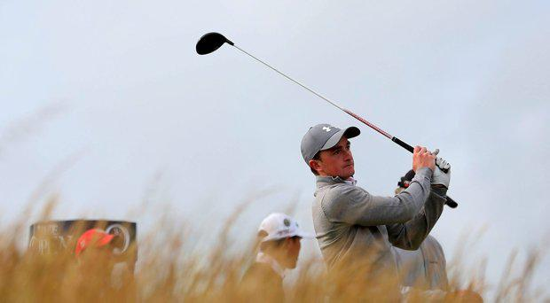Ireland's Paul Dunne during day one of The Open Championship 2015 at St Andrews, Fife