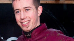 Bryan Cooper could be the man to keep on side in each of the two chases on tonight's €50,000 Midlands National card at Kilbeggan (Sportsfile)