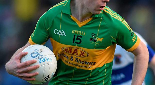 Offaly's Niall McNamee hopes to go beyond football by succeeding with his sports brand