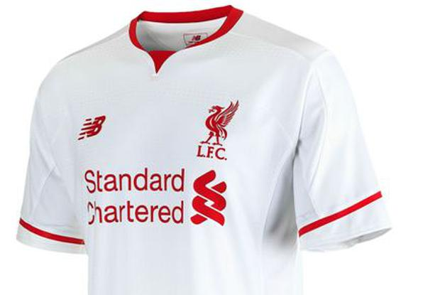 half off 384bb e3a99 Liverpool have unveiled their slick looking new away kit ...
