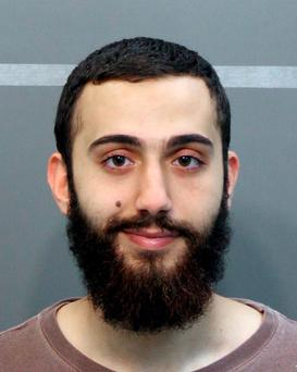 This April 2015 booking photo released by the Hamilton County Sheriffs Office shows a man identified as Mohammad Youssduf Adbulazeer after being detained for a driving offense.