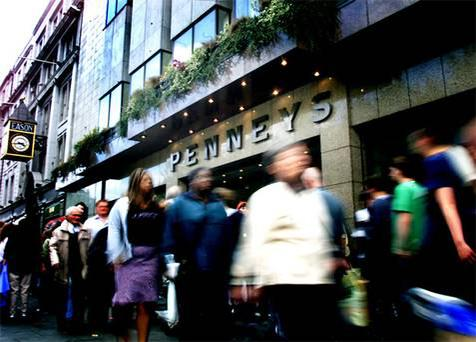 Penney's flagship store on O'Connell Street in Dublin