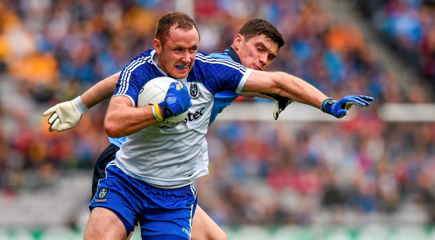 Vinny Corey will have a key role to play for Monaghan in defence