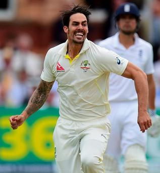 Mitchell Johnson of Australia says he has opened up old English scars