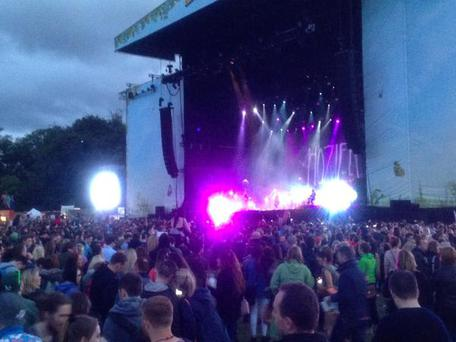 Hozier on stage Credit@ Clare Cullen