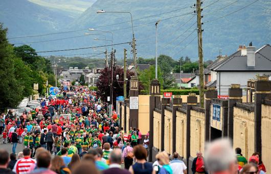 Kerry and Cork supporters will flock to Fitzgerald Stadium once again this evening