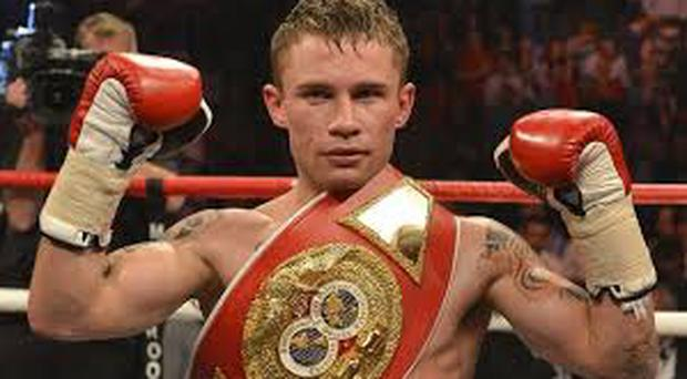 Irish boxer Carl Frampton