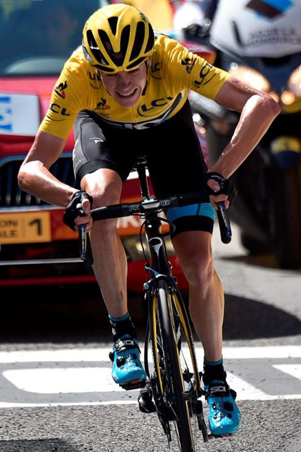 Froome rode the storm to the Champs-Élysées but things got worse in 2014 959640f3d