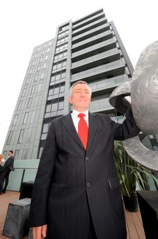 WHAT'S THE STOREY: Michael O'Flynn, the developer behind Cork's Elysian Tower, has privately expressed his annoyance at the poor treatment he believes he received from Nama