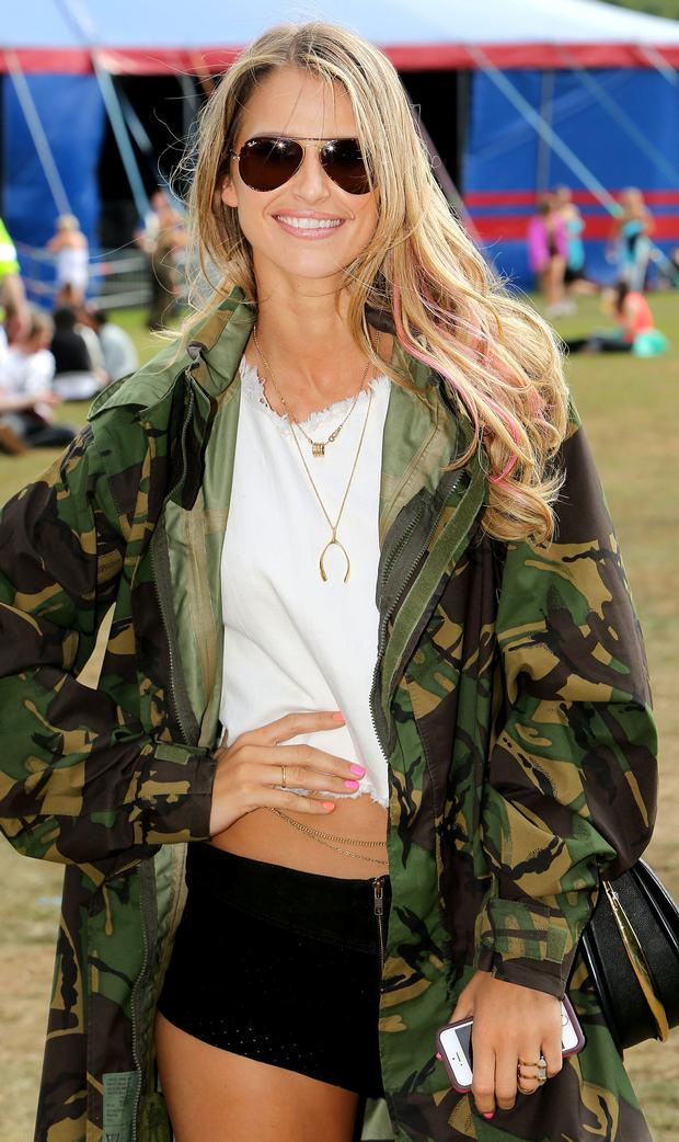 Vogue Williams at Longitude festival
