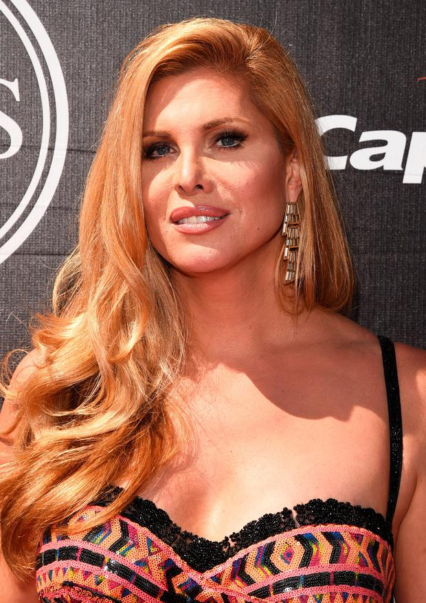 Actress Candis Cayne attends The 2015 ESPYS at Microsoft Theater on July 15, 2015 in Los Angeles, California