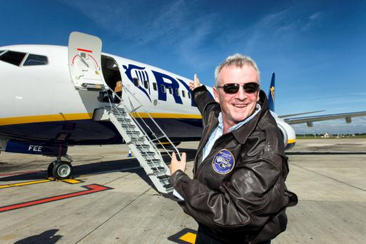 Ryanair chief Michael O'Leary: 'Nobody ever expects Ryanair to just sit back and let things happen'. Photo: Mark Condren