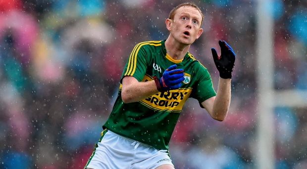 """Colm Cooper, Kerry, during the Munster GAA Football Senior Championship Final Replay at Fitzgerald Stadium, says he may have to accept that """"things don't come as easy as they once did"""" for him"""