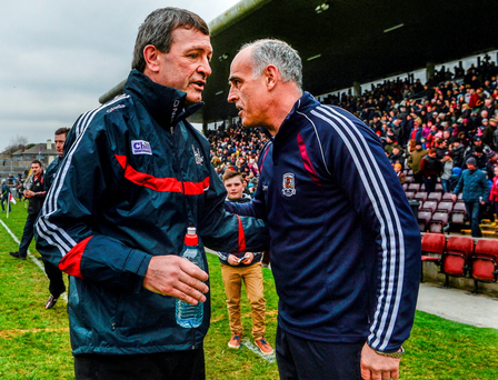 Cork manager Jimmy Barry-Murphy and Galway counterpart Anthony Cunningham will pit their wits against each other on Sunday